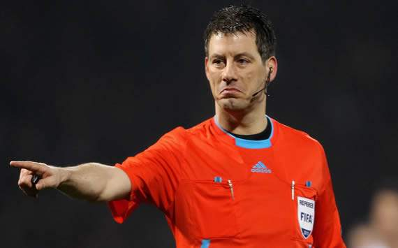 Germany's controversial selection - Euro 2012 referee Wolfgang Stark