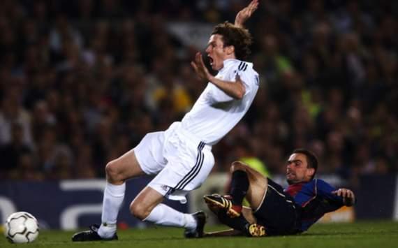 Steve McManaman, Real Madrid, Marc Overmars, Barcelona, 2002