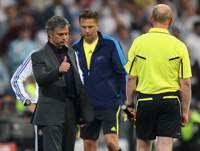 Champions League: Real Madrid - FC Barcelona, Mourinho