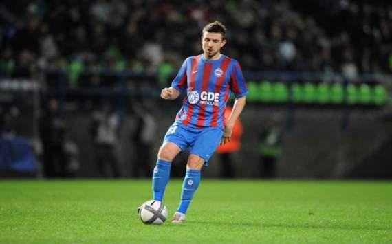 Grégory Leca, défenseur du SM Caen.