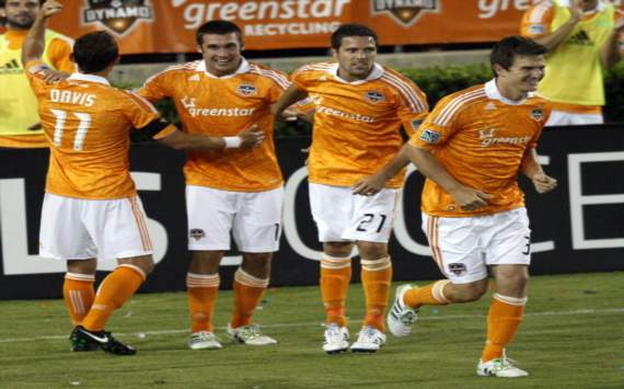 Houston Dynamo, Brad Davis, Will Bruin, Hunter Freeman, Bobby Boswell