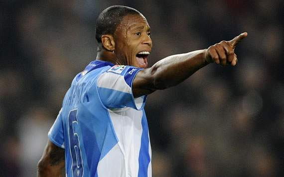 Malaga's Julio Baptista over the moon with return to top form