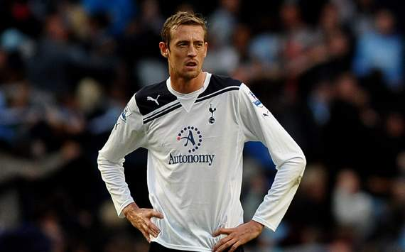 EPL :  Peter Crouch, Manchester City v Tottenham