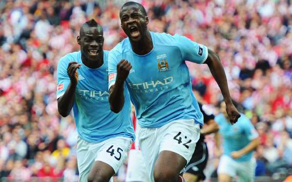 Manchester City midfielder Yaya Toure: Balotelli will be one of the Premier League's best