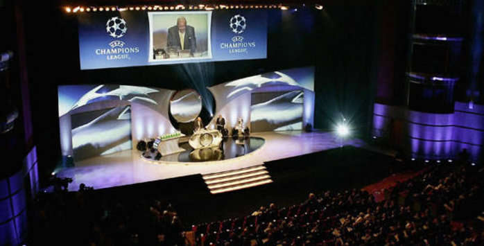 Champions League draw (Getty Images)