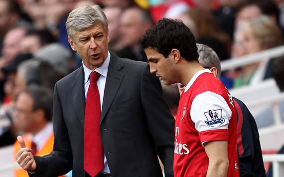 Wenger hopes Fabregas will return to Arsenal one day
