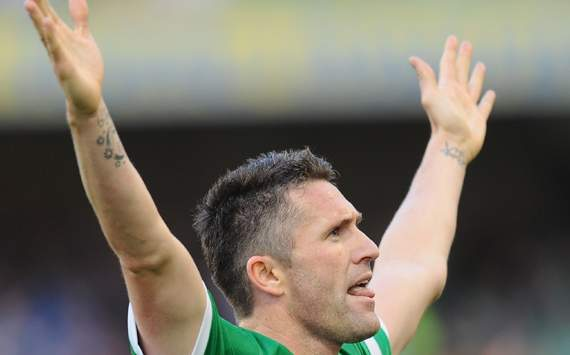 Home Nation cup : Robbie Keane, Republic of Ireland v Northern Ireland