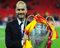 UEFA Champions League: Pep Guardiola