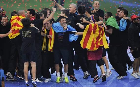 جایزه «فوتبال سالم» فدراسیون فوتبال اسپانیا برای بارسلونا