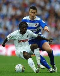 npower Championship,Ian Harte,Reading v Swansea City