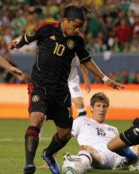 Giovani dos Santos, Mexico vs New Zealand (Getty)