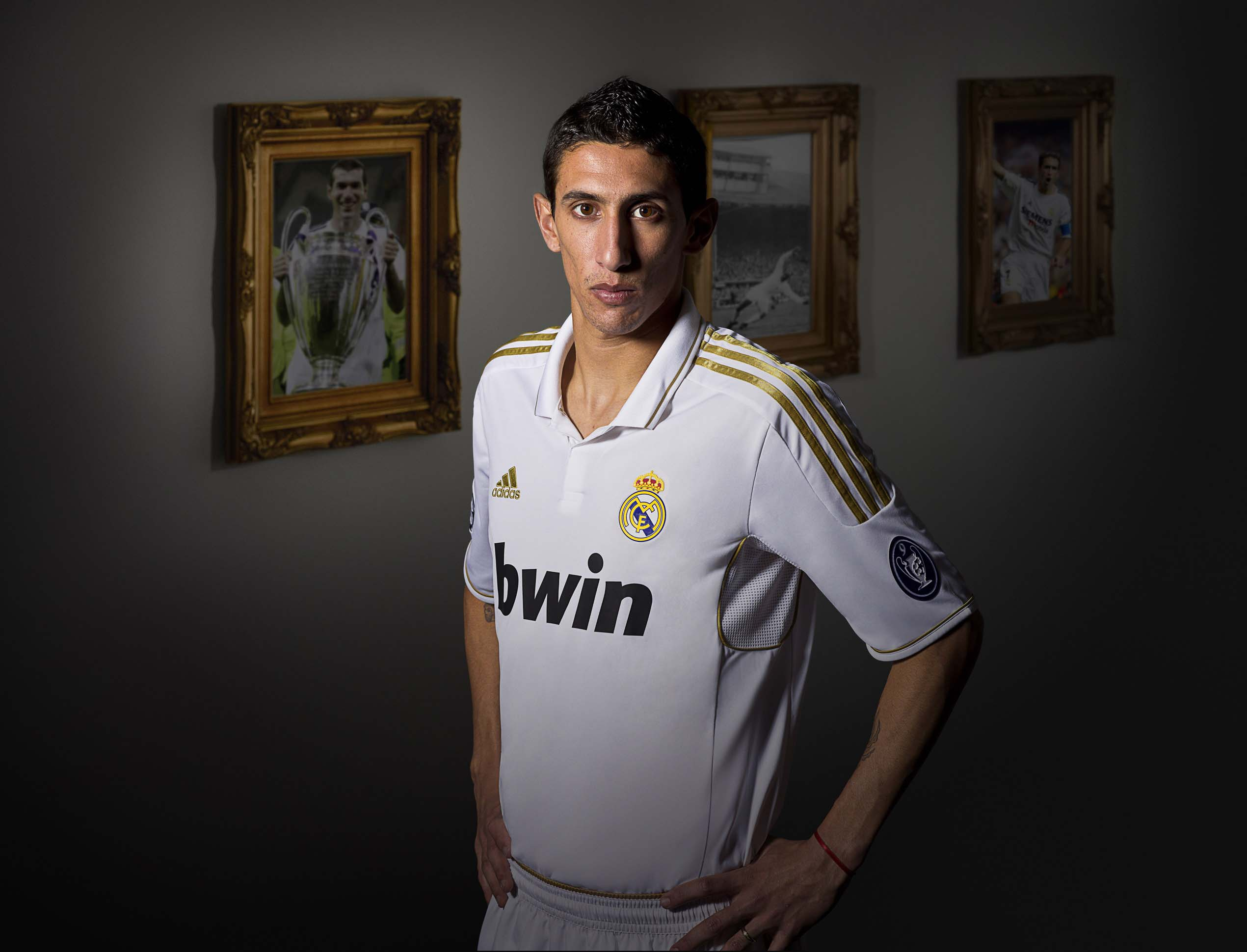 Pictures  A Look At The New Real Madrid Kit For The 2011 12 Campaign