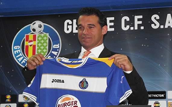 Luis García, presentado como entrenador del Getafe