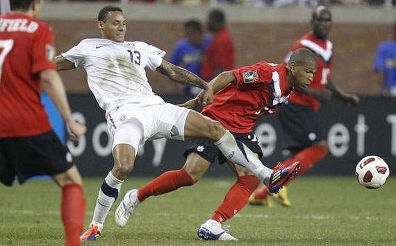 Simeon Jackson, Canada, Jermaine Jones, USA