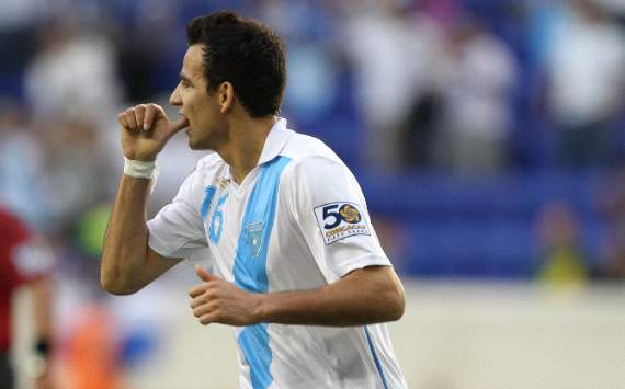 Marco Pappa, Guatemala, Gold Cup 2011 (Getty)