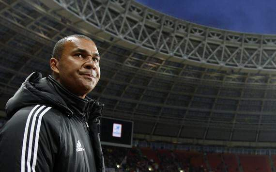 Ruud Gullit as trainer of Terek Grozny