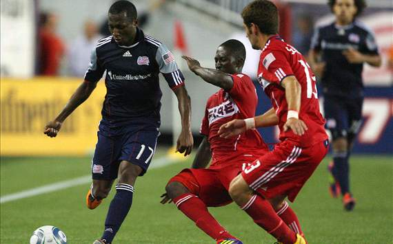Patrick Nyarko, Gonzalo Segares, Chicago Fire, Sainey Nyassi, New England Revolution