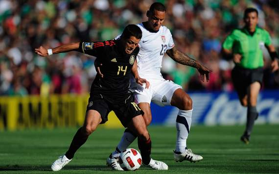 Javier 'Chicharito' Hernandez, Mexico; Jermaine Jones, USA; Gold Cup final