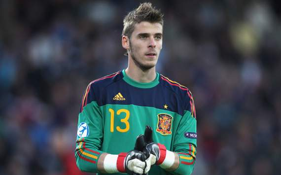 David De Gea Ingin Masuk Final Olimpiade London 2012