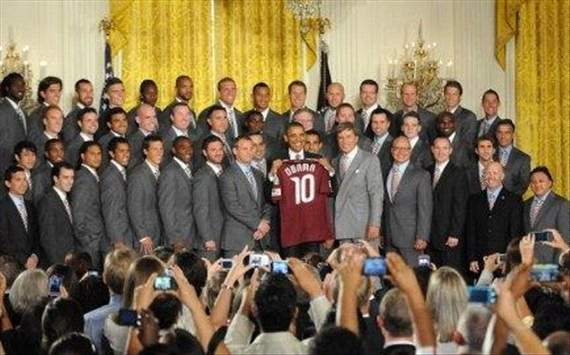 Colorado Rapids, White House, Barack Obama