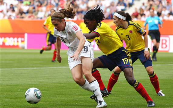 Heather O'Reilly, U.S. women's national team, Colombia