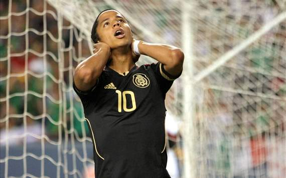 Mexico's Giovani dos Santos to start South Korea clash on bench - report