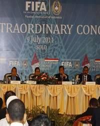 Pembukaan Kongres Luar Biasa PSSI 2011 di Solo (Arief Setiadi/GOAL.com Indonesia)