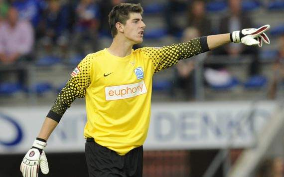 Courtois to remain at Atletico Madrid for 2012-13 season