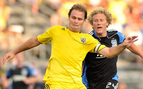 Chad Marshall, Columbus Crew; Steven Lenhart, San Jose Earthquakes; MLS