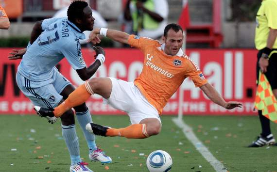 Kei Kamara, Sporting Kansas City; Brad Davis, Houston Dynamo; MLS