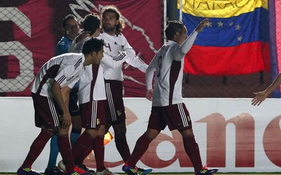 Copa America: El festejo de Vizcarrondo en Venezuela vs Chile
