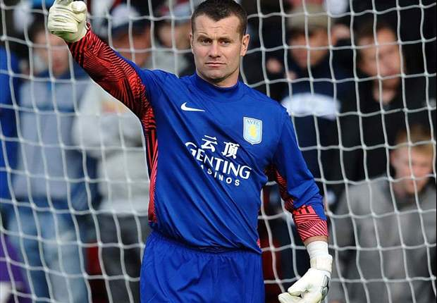 Aston Villa's Shay Given is excited about return to Newcastle United for the first time