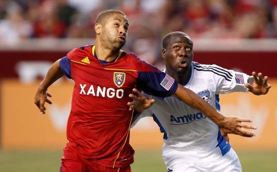 Alvaro Saborio, Real Salt Lake; Nana Attakora, San Jose Earthquakes; MLS
