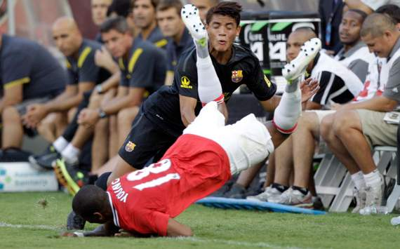 Jonathan dos Santos, Barcelona; Ashley Young, Manchester United; World Football Challenge