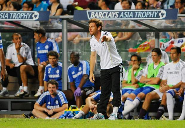 Andre Villas-Boas confident he can handle the pressure of being Chelsea manager ahead of trip to Stoke City