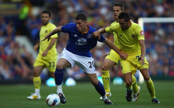 Pre Season Friendly,Ross Barkley,Everton v Villarreal