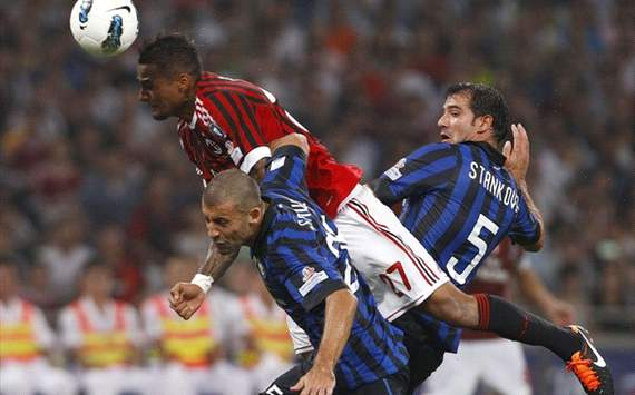 Italian Super Cup: Boateng - Samuel and Stankovic, Milan - Inter
