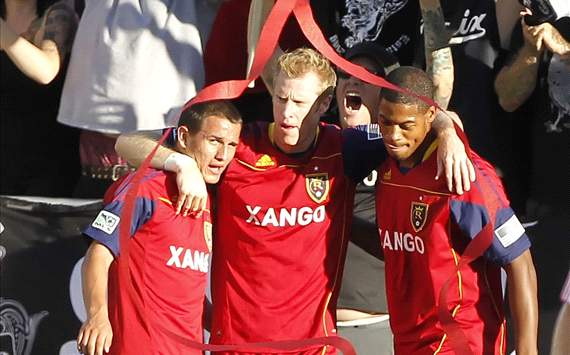 Nat Borchers, Chris Schuler, Luis Gil, Real Salt Lake, MLS