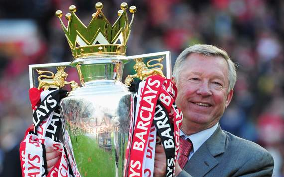 Premier League - Manchester United v Blackpool, Sir Alex Ferguson