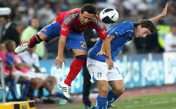 Friendly: Italy vs Spain: Riccardo Montolivo; Santiago Carzola