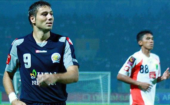 Hasil Goal Persiraja 1 vs 1 Arema Indonesia IPL 14-1-2012