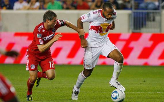 Logan Pause, Chicago Fire; Thierry Henry, New York Red Bulls, MLS