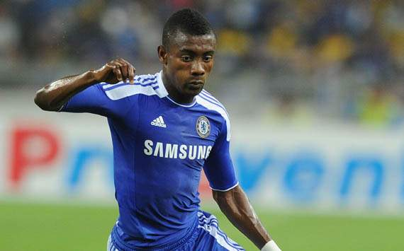 Salomon Kalou of Chelsea