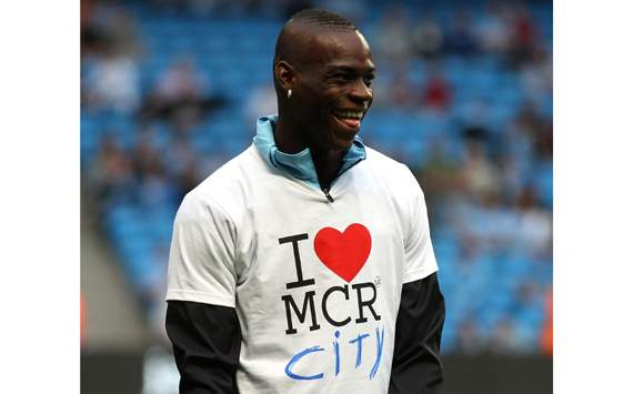 EPL  - Manchester City v Swansea City, Mario Balotelli
