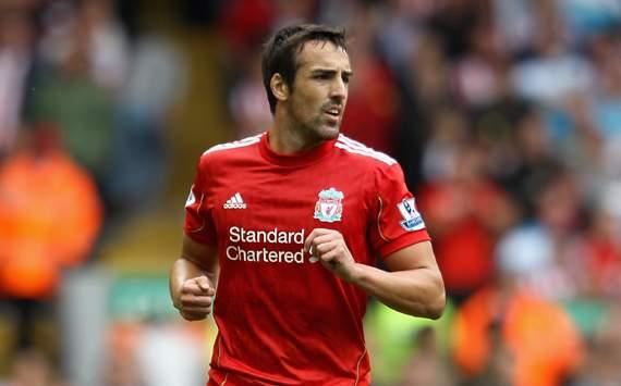 EPL : Jose Enrique, Liverpool v Sunderlan