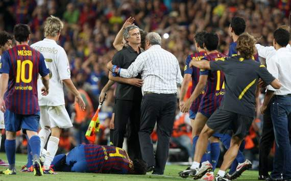 Jose Mourinho, Barcelona - Real Madrid