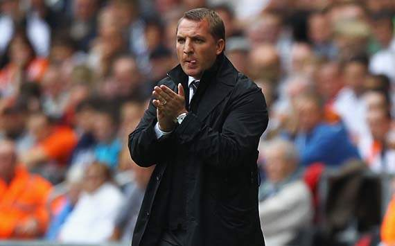 EPL - Swansea City vs Wigan Athletic, Brendon Rodgers