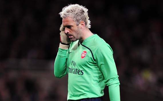 Manuel Almunia Dan Arsenal Akhirnya 'Cerai'