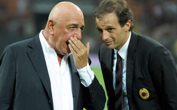 Galliani & Allegri - Milan (Getty Images)