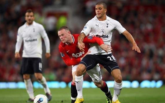 EPL,Wayne Rooney,Manchester United v Tottenham Hotspur